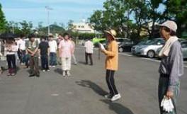 「農学部クリーンキャンパス」を実施しました。(2011/07/13)