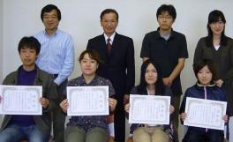 「平成23年度前期農学部分館ベストユーザー表彰式」を開催しました(2011/10/24)