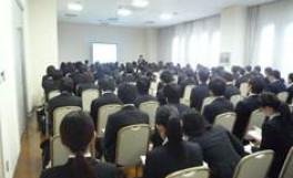 「しごと・職種研究セミナー&農学部合同企業説明会」を開催しました(2011/12/01)