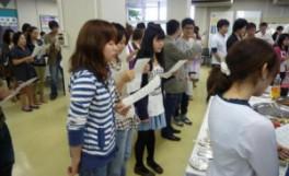 「新入生と留学生の集い2011」を実施しました(2011/06/08)