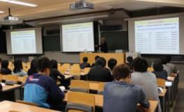 メチョー大学の関係者との意見交換会及び学術講演会(2012/05/18)