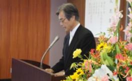 平成26年度香川大学大学院農学研究科「日本の食の安全留学生特別コース」 入学式について