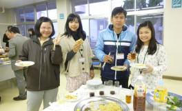 第31回留学生との懇談会を実施しました(2014/03/06)