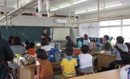 高松市と連携で「磯の生物観察会」開催