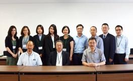 日本・アジア青少年サイエンス交流事業(さくらサイエンスプラン)の招へい者がインターナショナルオフィス長を表敬訪問