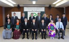 平成27年度香川大学大学院農学研究科日本の食の安全留学生特別コース 修了式