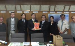 台湾・嘉義大学生命科学院の教員が農学部を訪問