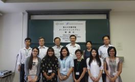 香川大学農学部さくらサイエンスプラン開講式