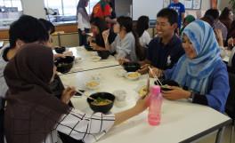 食品の安全・機能解析教育の体験型ショートステイ(SS)プログラム閉講