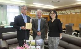 国際交流協定校台湾・国立嘉義大学よりKu博士来訪