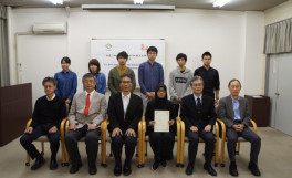 平成27年度SUIJI-JDP-Ms受入れ学生修了式