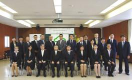 平成28年度香川大学大学院農学研究科 日本の食の安全特別コース入学式