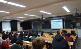 「就活の筆記試験対策講座」を開催