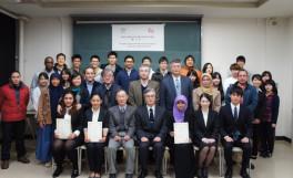 平成27年度SUIJI-JDP-Ms派遣・受入学生成果発表会及び受入学生修了式