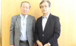 元農学部長 山野善正先生が「瑞宝中綬章」を受章