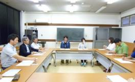 学部長とASUSの懇談会
