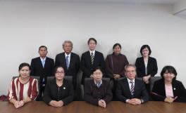 ミャンマー国、イエジン農業大学の教員ら8名が農学部を訪問