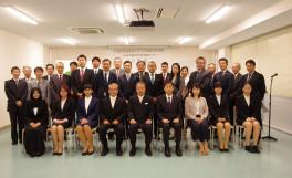 平成29年度香川大学大学院農学研究科 日本の食の安全特別コース入学式