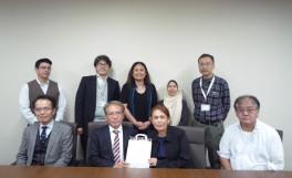 マレーシアプトラ大学の教員3名が農学部を表敬訪問