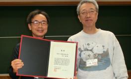 第9回日本動物行動学会賞を受賞