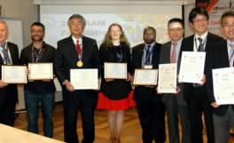 国際先端材料協会にてIAAMメダル賞を受賞