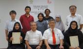 平成30年度SUIJI-JP-Ms受入学生の成果発表会及び修了式