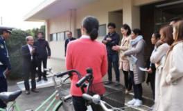 留学生交通安全講習会の実施
