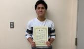 日本ポリアミン学会 第11回年会にて、優秀発表賞を受賞