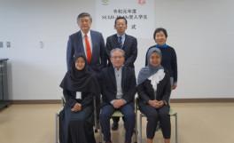 令和元年度SUIJIジョイント・プログラム・マスター(SUIJI-JP-Ms)受入学生の開始式