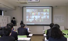 令和2年度香川大学大学院農学研究科 日本の食の安全特別コース入学式