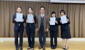 農学部学生がインターナショナルオフィス主催英語プレゼンテーションコンテストにて好成績