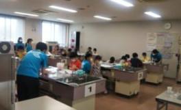 夏の科学体験教室が実施