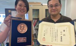 第72回日本電気泳動学会総会に受賞