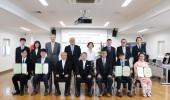 令和3年度香川大学大学院農学研究科日本の食の安全特別コース修了式