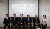 令和3年度香川大学大学院農学研究科 日本の食の安全特別コース入学式